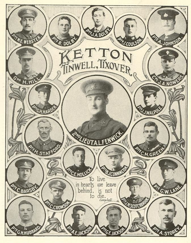 Ketton war roll of honour